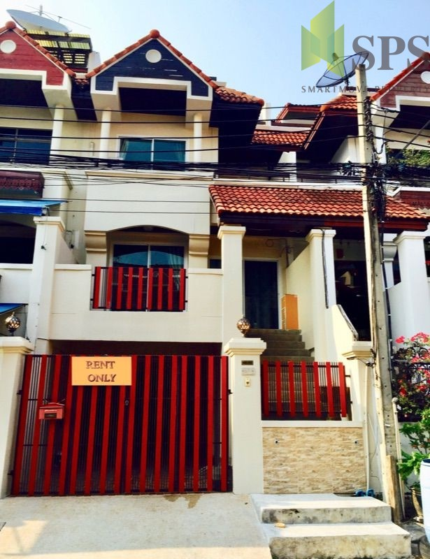 For Rent Home Office ให้เช่าโฮมออฟฟิศหมู่บ้าน รอยัลนครินทร์วิลล่า ทาวส์โอม 4 ชั้น อ่อนนุช 46(Property ID: SPS-PA151)
