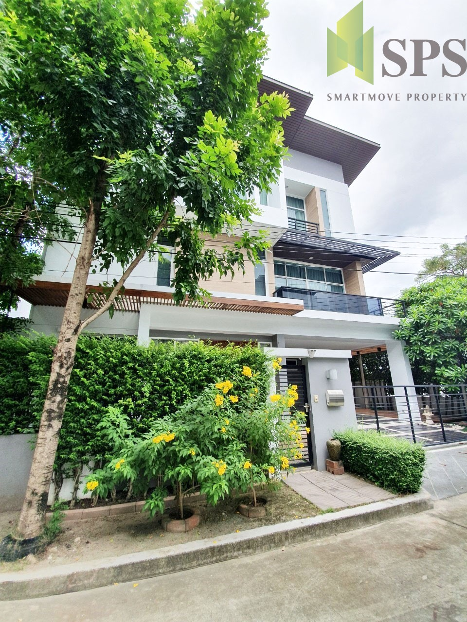 For Rent ให้เช่าบ้านเดี่ยว หมู่บ้าน Nivana Beyond lite กรุงเทพกรีฑา (Property ID: SPS-PA154)