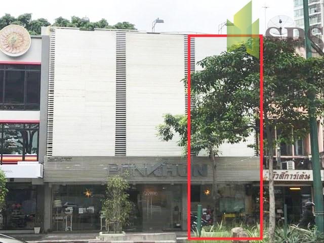 ขายอาคารพาณิชย์ 1 คูหา ติดถนนสุขุมวิท ใกล้รถไฟฟ้าเอกมัย ( SPSPE233)