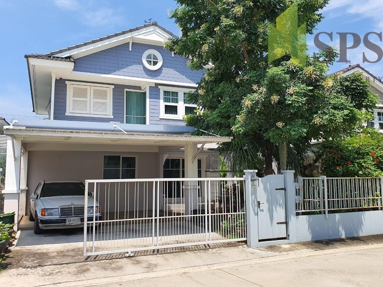 For Rent Single House Near Mege Bangna Chaiyapruek Village Bangna km. 7 ( SPSPE285)