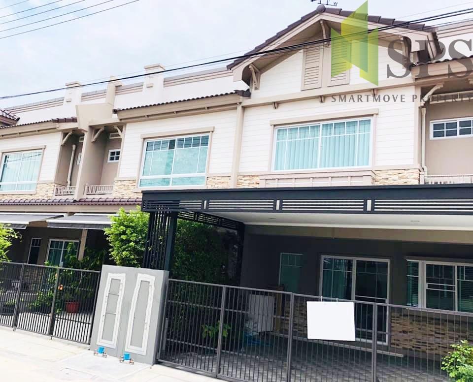 Rent/Sale Townhome Indy3 Bangna Km.7 ขายและเช่าทาวน์โฮมใหม่ Indy3 บางนากม.7 บ้านหลังมุม( SPSPE245)