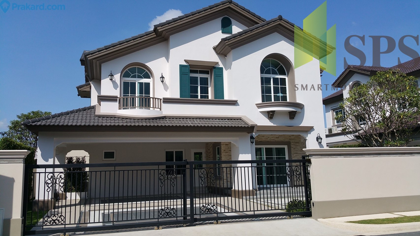 Single House Nantawan Bangna Km. 7 (นันทวัน บางนา กม 7) For Rent close to Mega Bangna ( SPSPE287)