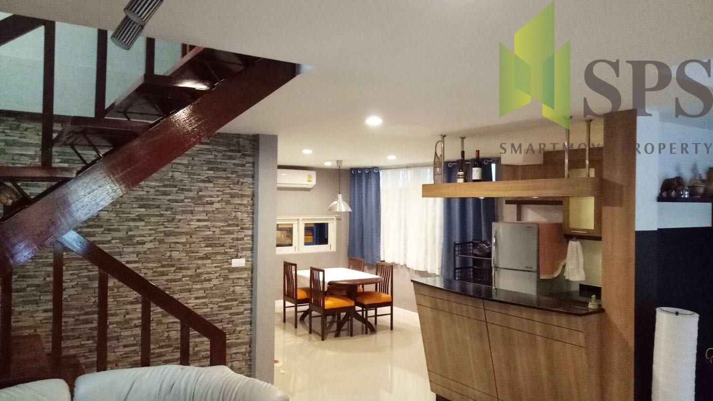 For Rent Single house at Ladprao Soi 42 ให้เช่าบ้านเดี่ยวตกแต่งสวยงามพร้อมอยู่อาศัย ในซอยลาดพร้าว 42 ( SPSPE296)