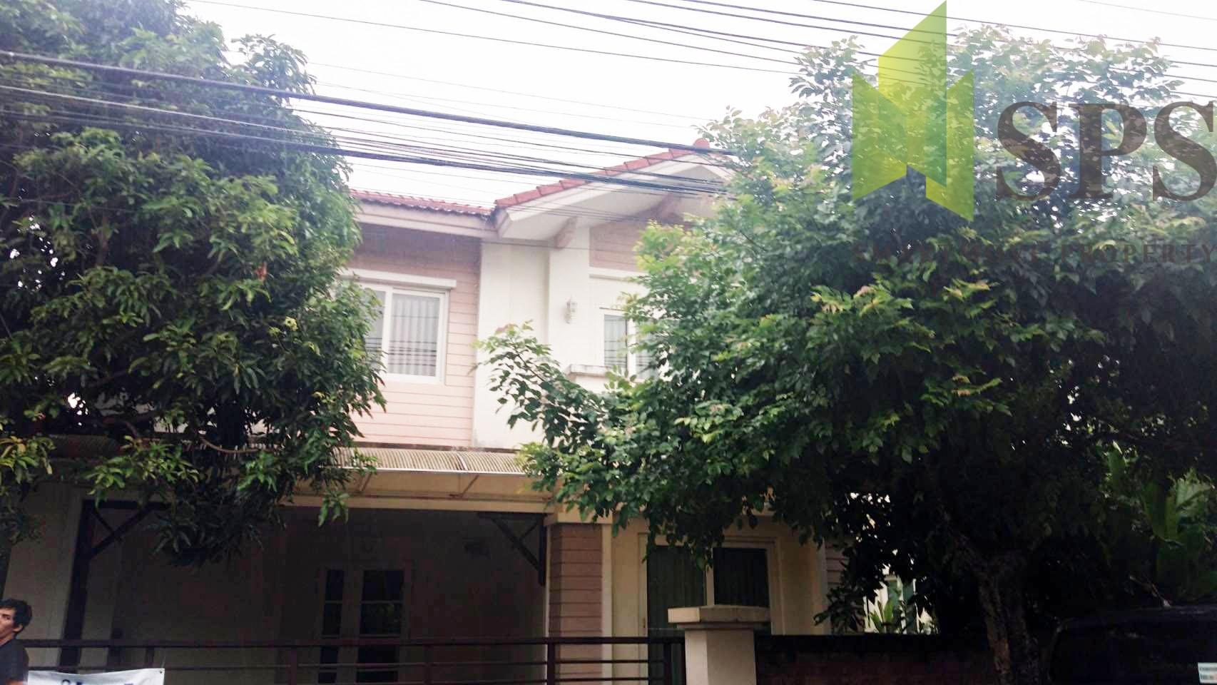 For Rent Single House Casa Ville Srinakarin ให้เช่า บ้านเดี่ยวโครงการ คาซ่าวิลล์ ศรีนครินทร์ ( SPSPE232)
