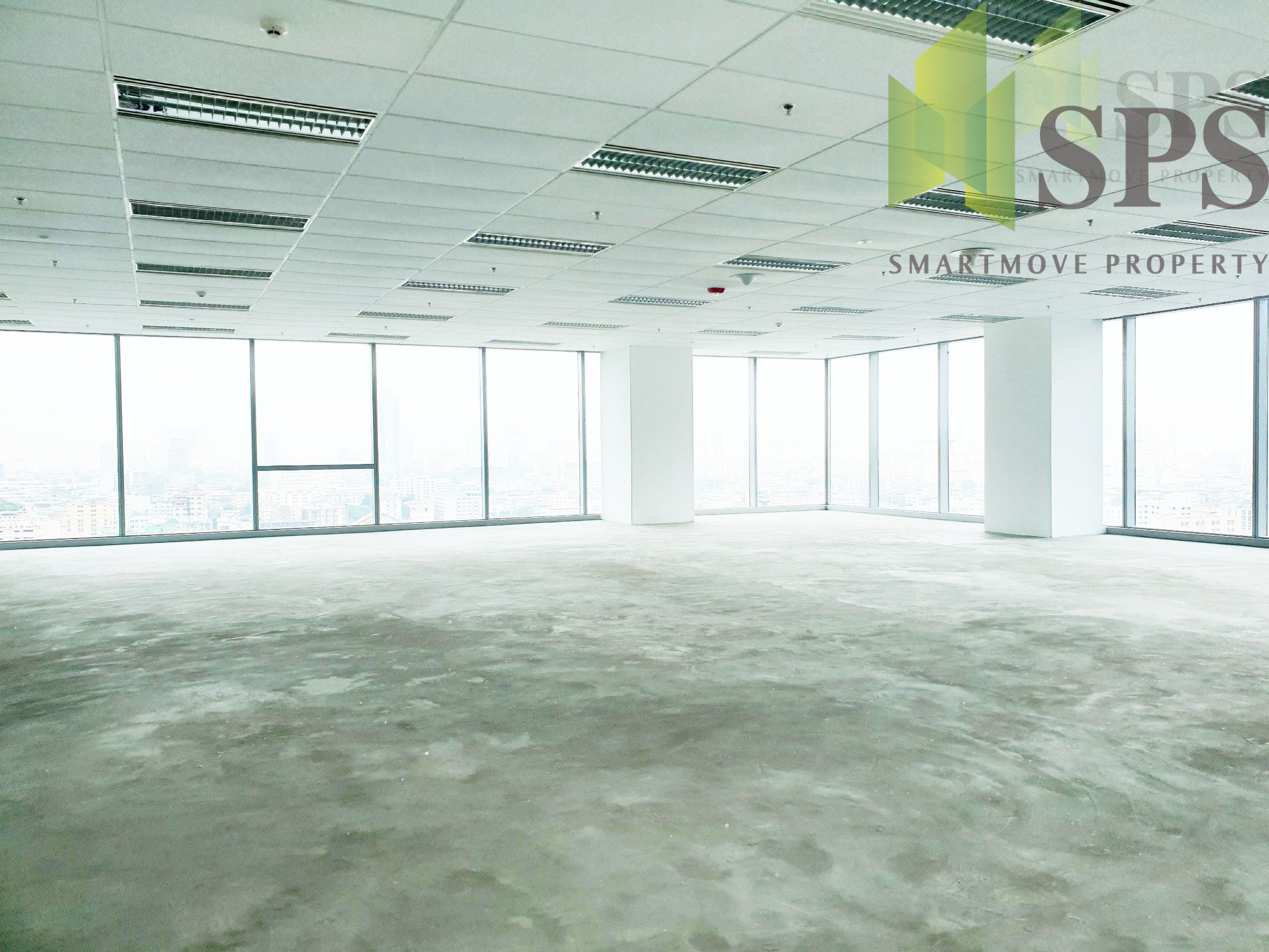 Office space building AIA Capital Center CBD Located on Ratchadapisek Road CBD ( SPSPE329)