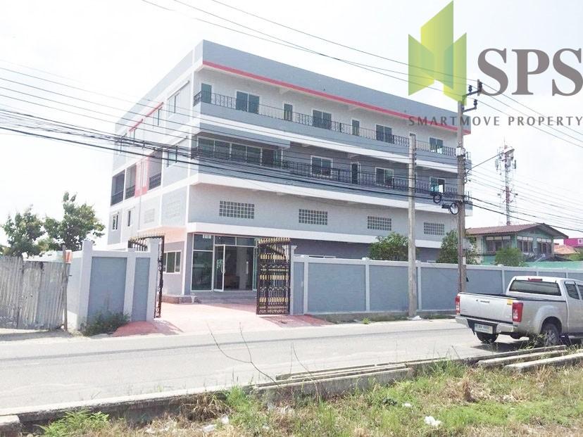 ให้เช่า อาคารสำนักงาน 4 ชั้น ถนนบางนาตราด กม.19 ใกล้มหาวิทยาลัยหัวเฉียว ( SPSPE286)