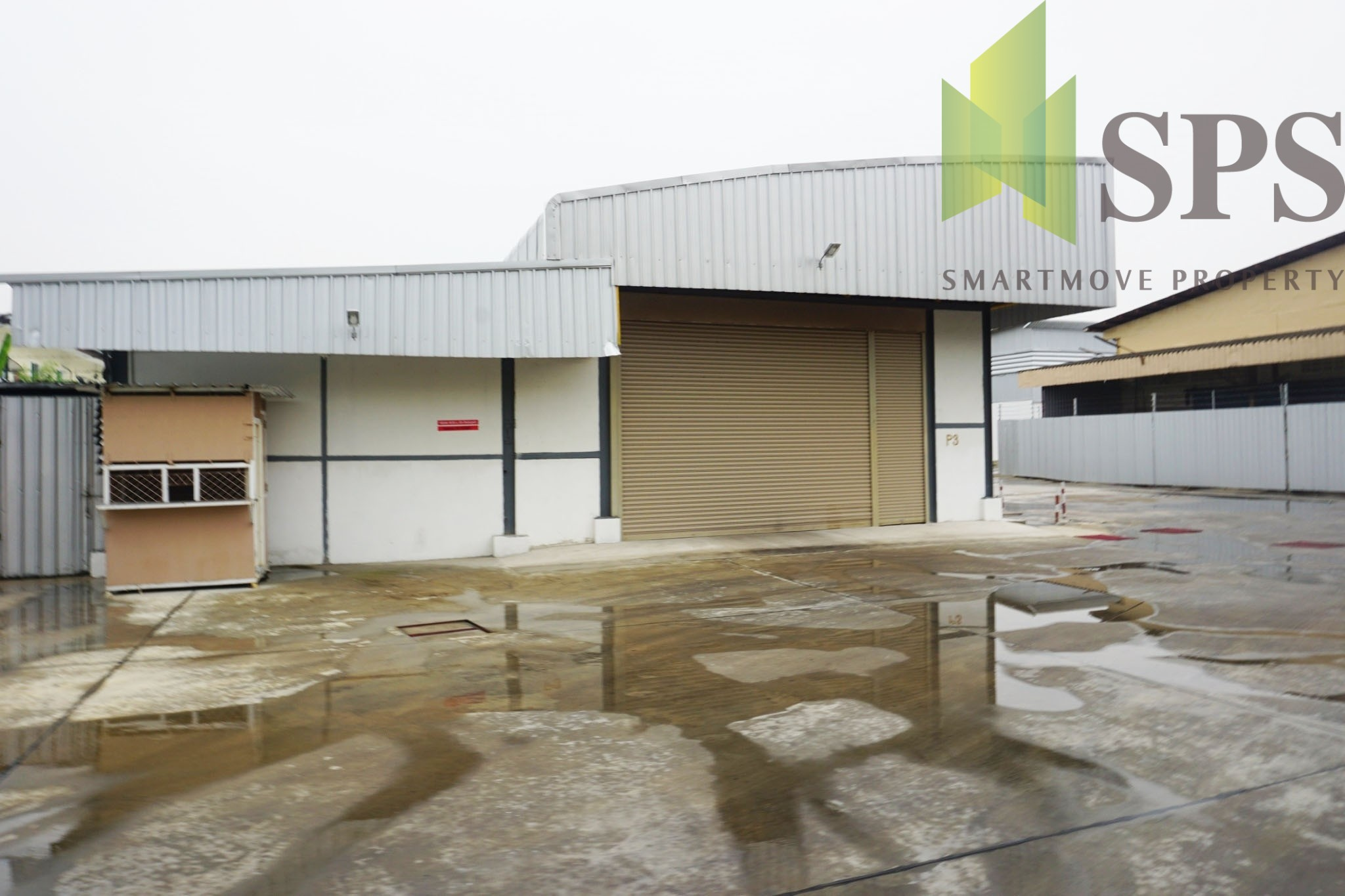 โกดังให้เช่าในซอยอ่อนนุช 17 For Rent Warehouse Soi Onnut 17 ( SPSPE250)