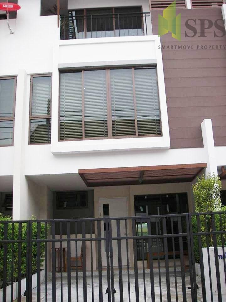 For Rent Townhome Near BTS Bangchak ทาวน์โฮมให้เช่าใกล้บีทีเอสบางจาก( SPSPE229)
