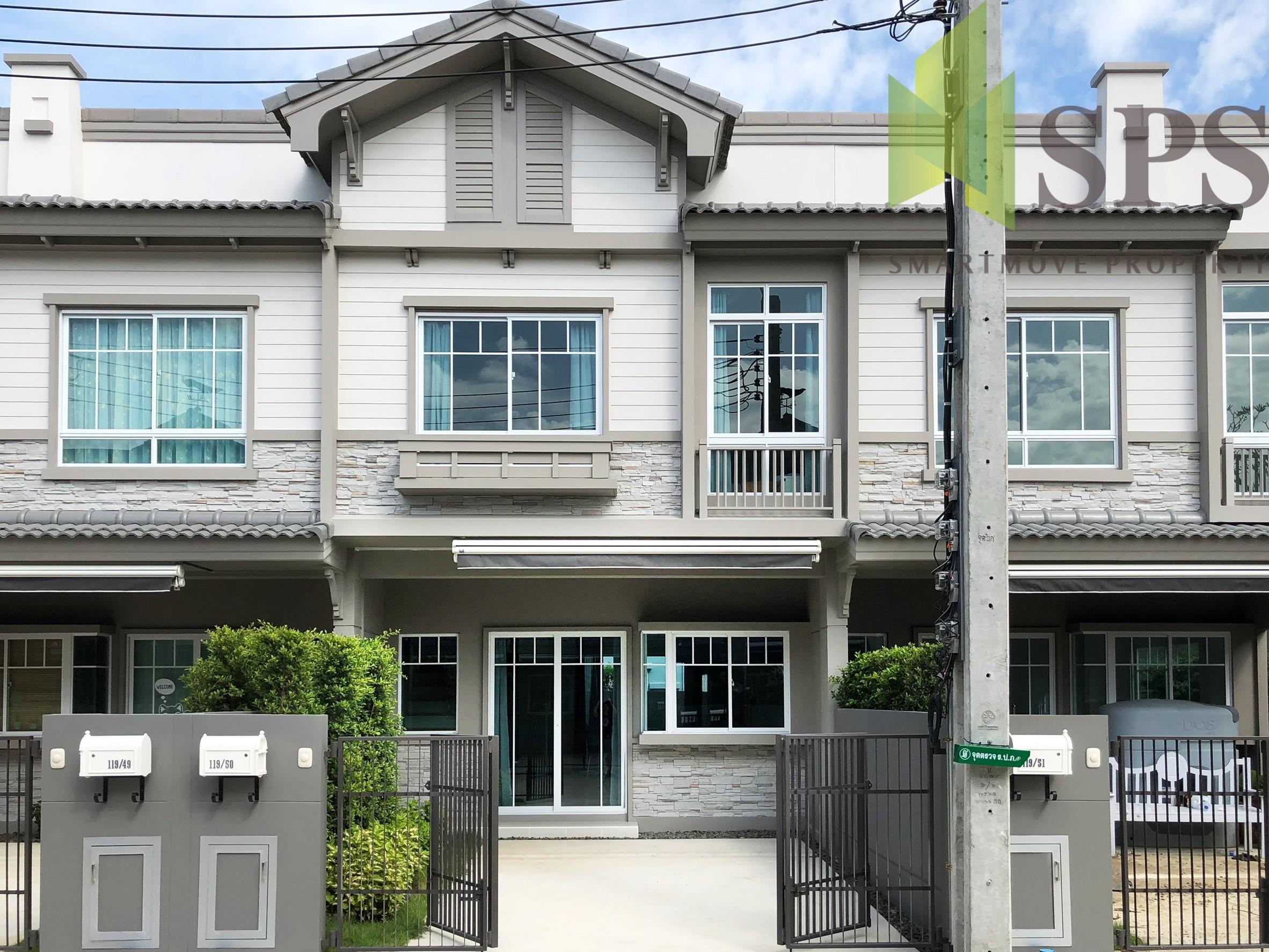 For Rent ให้เช่าทาวน์เฮาส์ หมู่บ้านอินดี้3 บางนา กม.7 (Property ID: SPS-PA215)