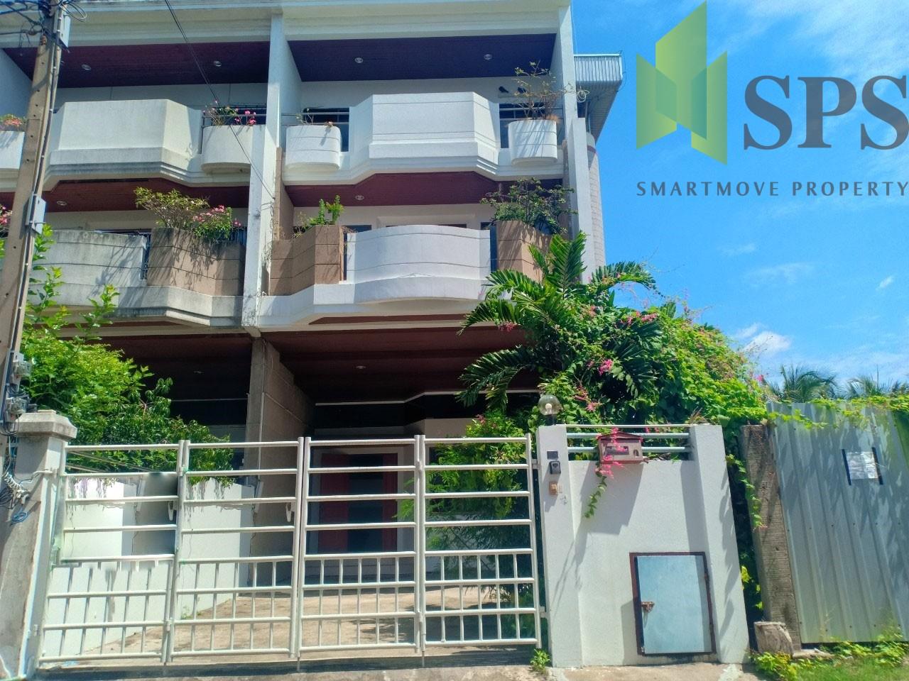For Rent Home office / Town Home ให้เช่า โฮมออฟฟิศ ใกล้ BTS บางจาก (Property ID: SPS-PA233)