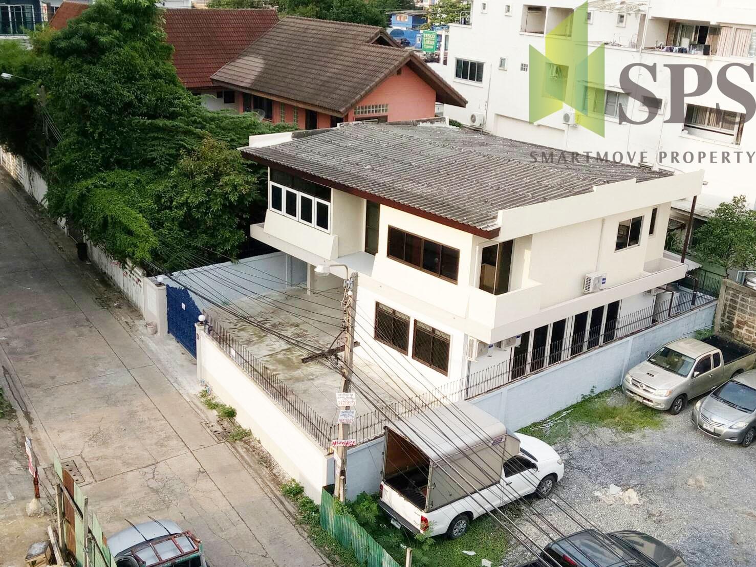 For Rent Single house near MRT Ratchada บ้านให้เช่าใกล้รถไฟใต้ดินรัชดา เหมาะสำหรับเป็น home office( SPSPE324)
