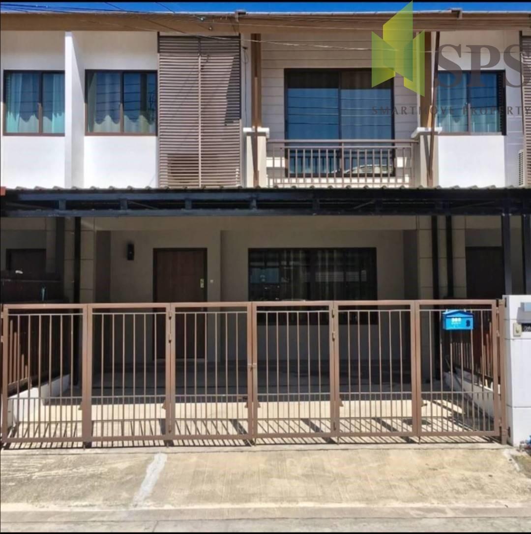 For Rent 2 storey townhouse ให้เช่า ทาวเฮ้าส์ ในหมู่บ้านพฤกษาวิลล์ 73 ซอยพัฒนาการ 38 (Property ID: SPS-PA220)