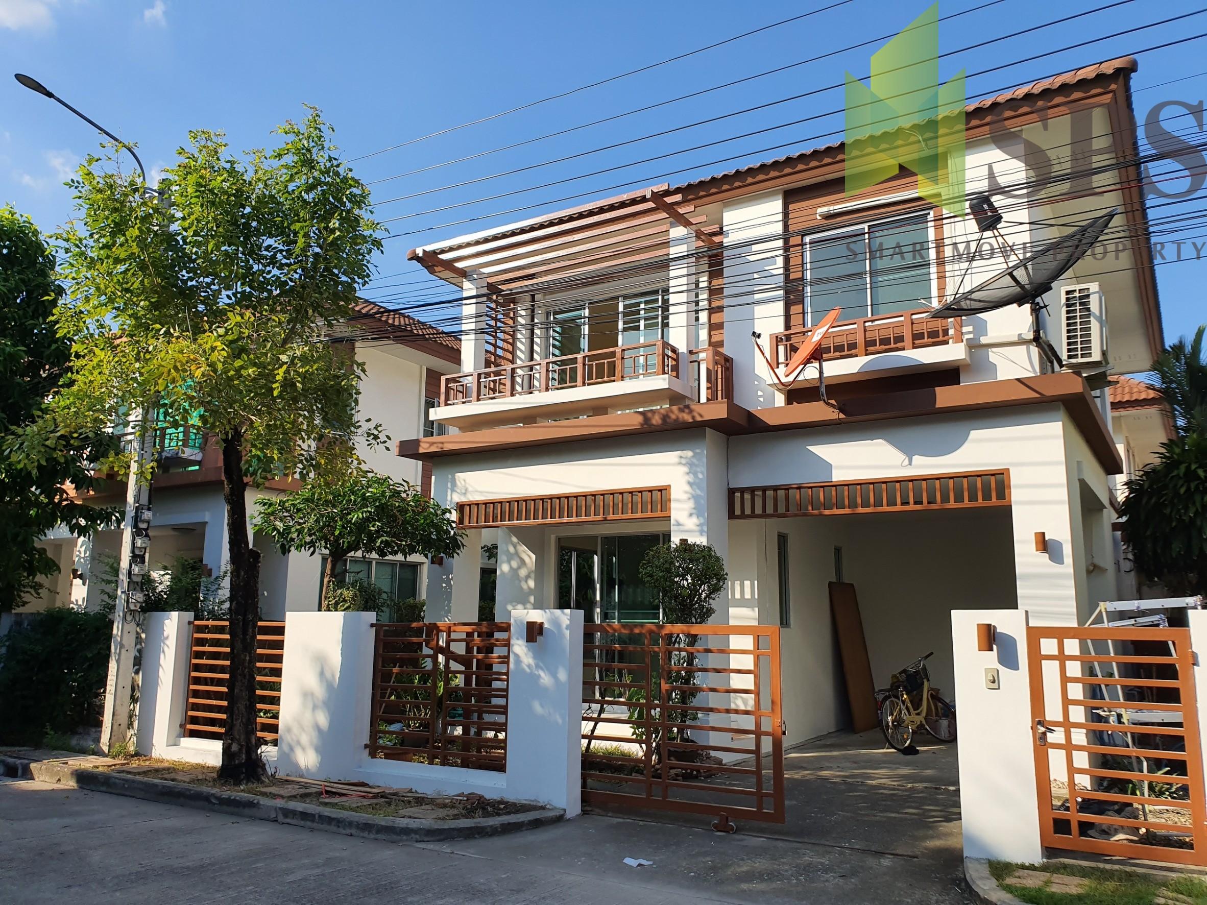 For Rent Single House หมู่บ้านมัลดีฟ ปาล์ม – Atoll Maldives Palms Bangna-Trad Km. 8( SPSPE308)