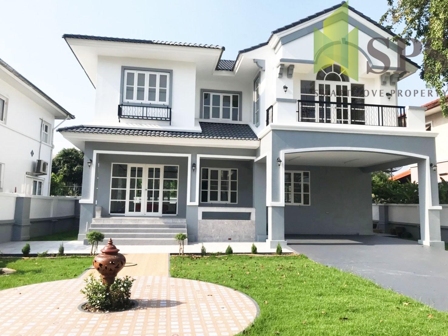 For Rent Single house Nantawan Srinakarin บ้านเดี่ยวให้เช่าโครงการนันทวันศรีนครินทร์ ( SPSPE325)