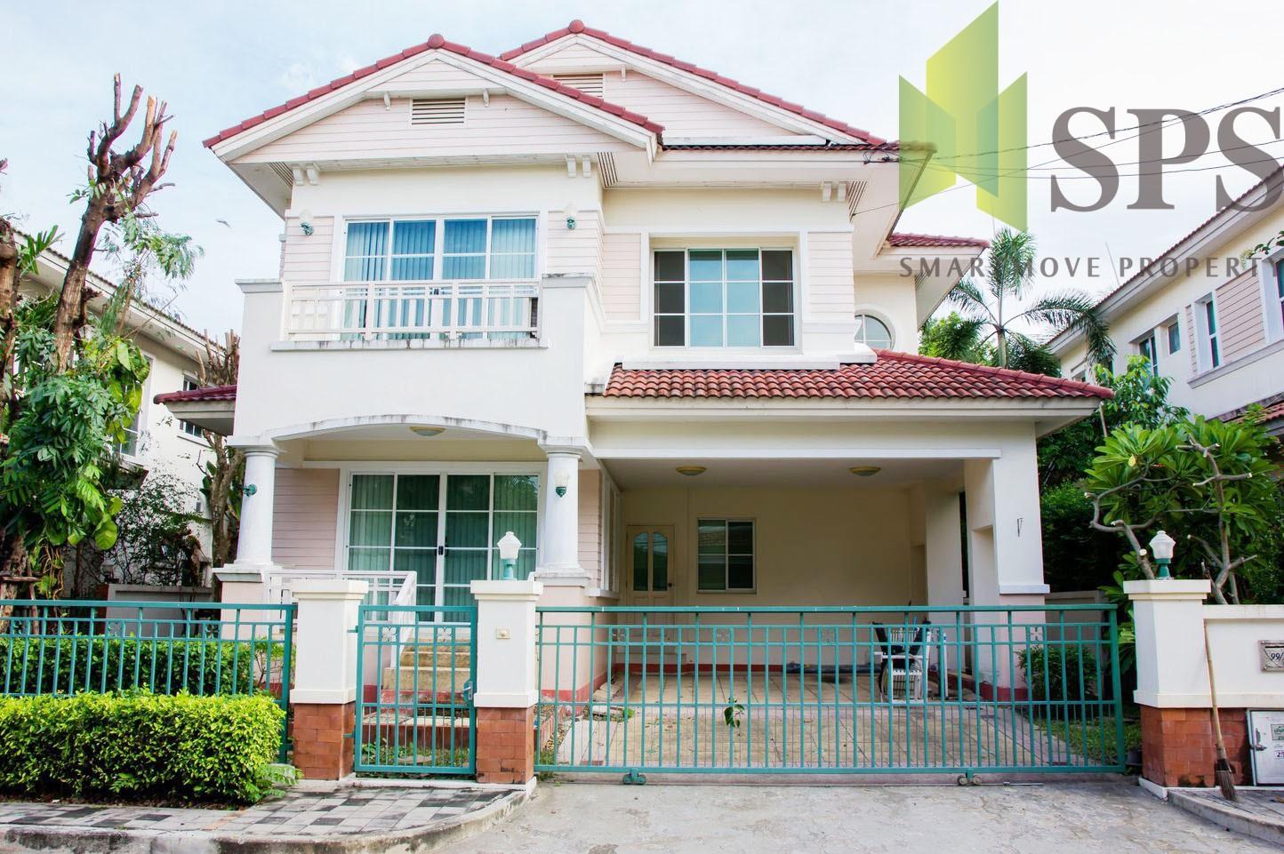For Rent Single House Manthana Onnut – Wongwan 1 บ้านให้เช่าโครงการมัณฑนา1 อ่อนนุช-วงแหวน ( SPSPE312)