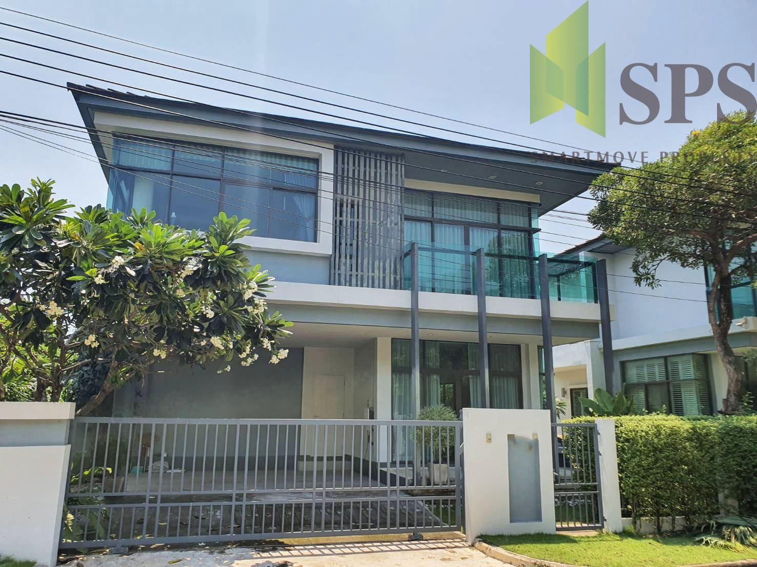 Single house Setthai Krungthepkretha Soi 7 บ้านให้เช่าโครงการเศรษฐสิริกรุงเทพกรีฑา ซอย 7 ( SPSPE257)