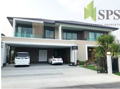 For Rent and Sale Luxury House with Private Swimming pool The Grand Lux Bangna – Suanluang ( SPSPE319)