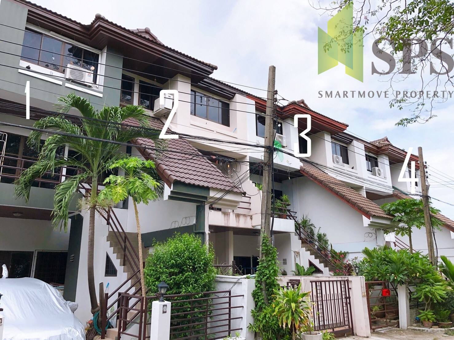 Townhouse Shukhumvit 105 For Sale 25 Sq.W 250 Sq.m(SPS-GH20)