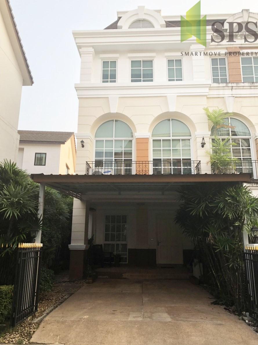 For Rent TOWNHOME PLUS CITYPARK RAMA 9 – HUA MARK FOR RENT ทาวน์โฮม พลัสซิตี้พาร์ค พระราม 9 ( SPSPE322)