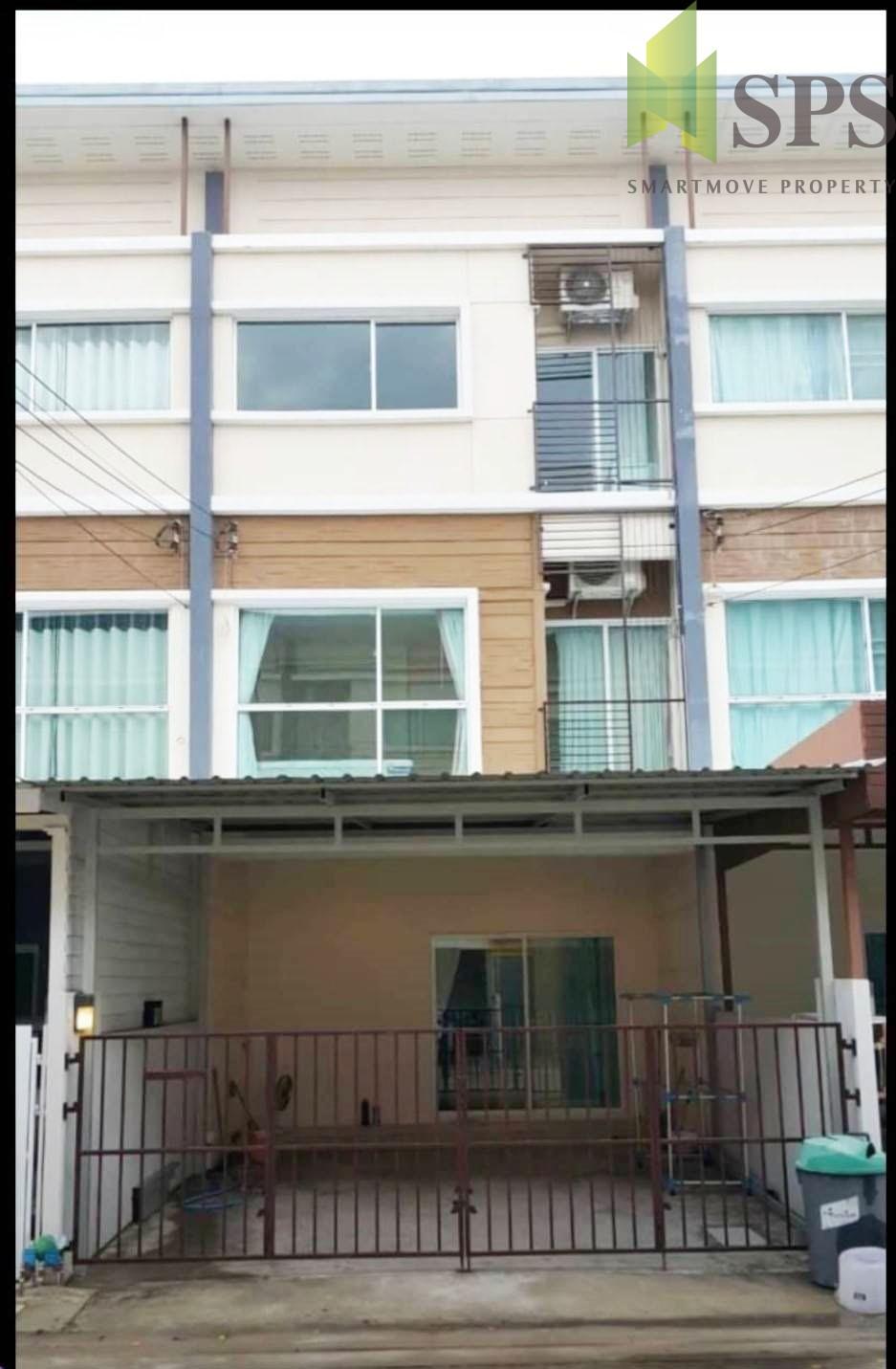 For Rent 3 storey townhouse ให้เช่าทาวน์โฮม3ชั้น หมู่บ้านวิลเลตซิตี้ พัฒนาการ 38 (Property ID: SPS-PA221)