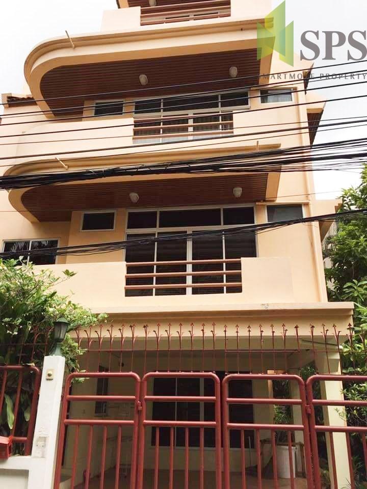 For Sale ขาย บ้านเดี่ยว ทรงทาวน์โฮม รีโนเวทใหม่ ที่สุขุมวิท 31 (Property ID: SPS-PA270)