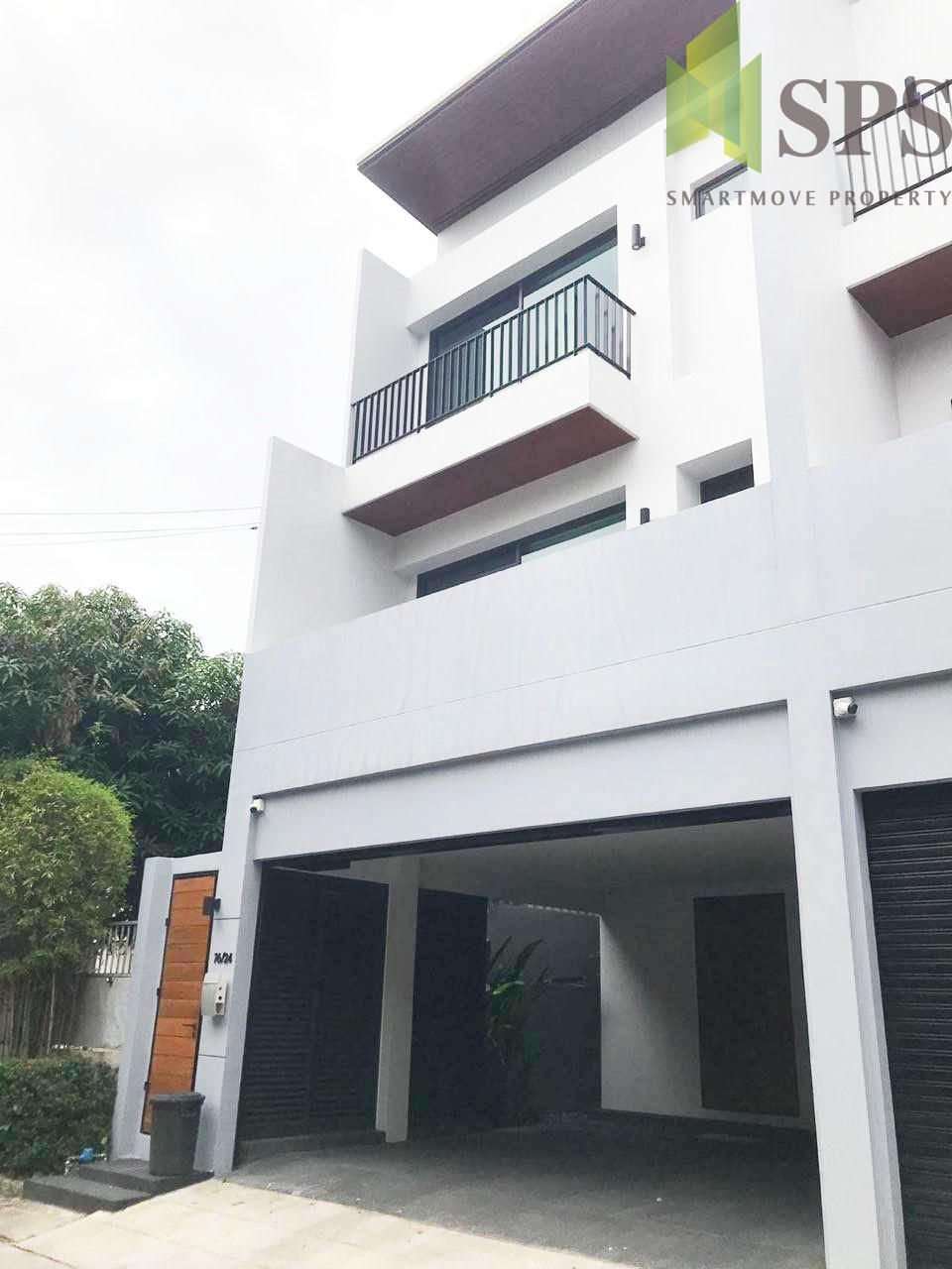 For Rent Detached House 3 Storey ,Sukhumvit 39, fully furnished(Property ID: SPS-PN261)