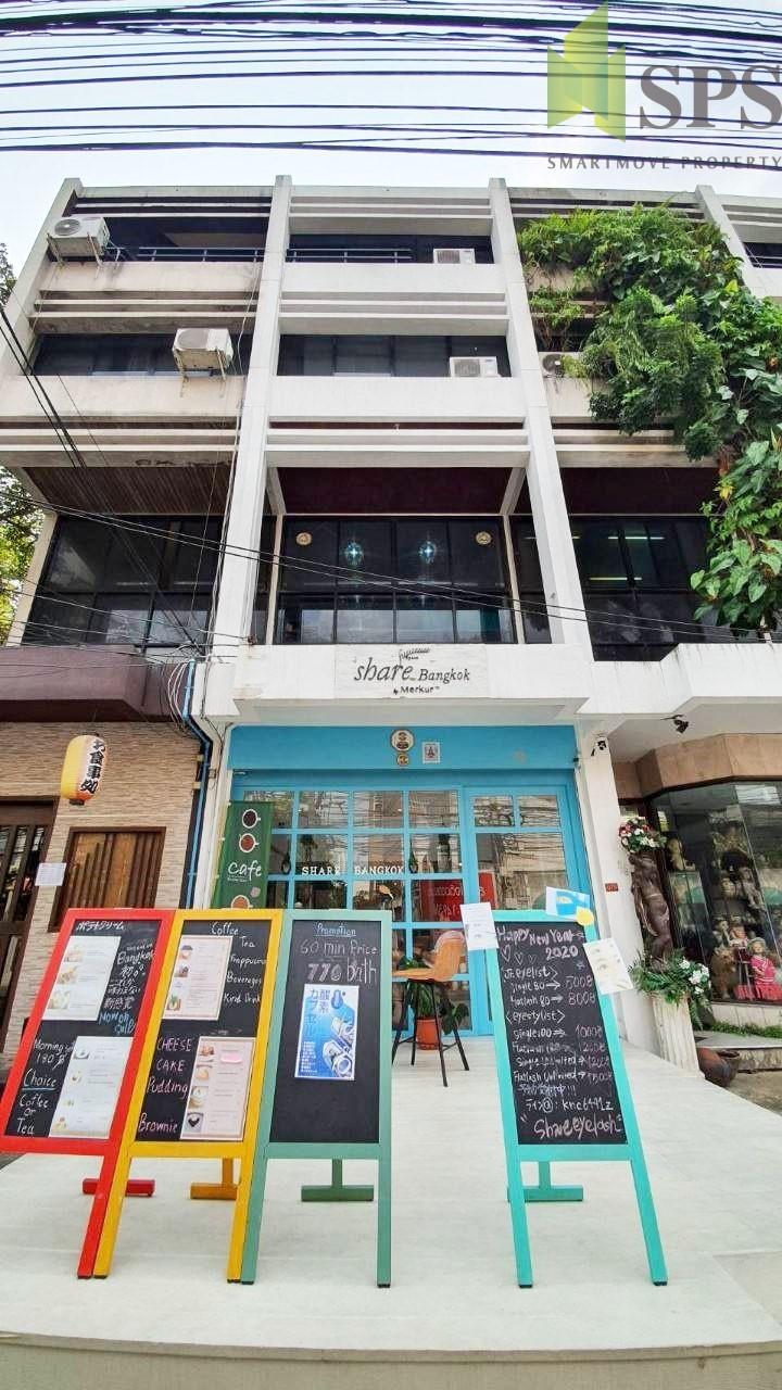 For Rent Shophouse at Phrom Phong ให้เช่าอาคารพาณิชย์สูง 5 ชั้น ย่านพร้อมพงษ์ ( SPSPE357)