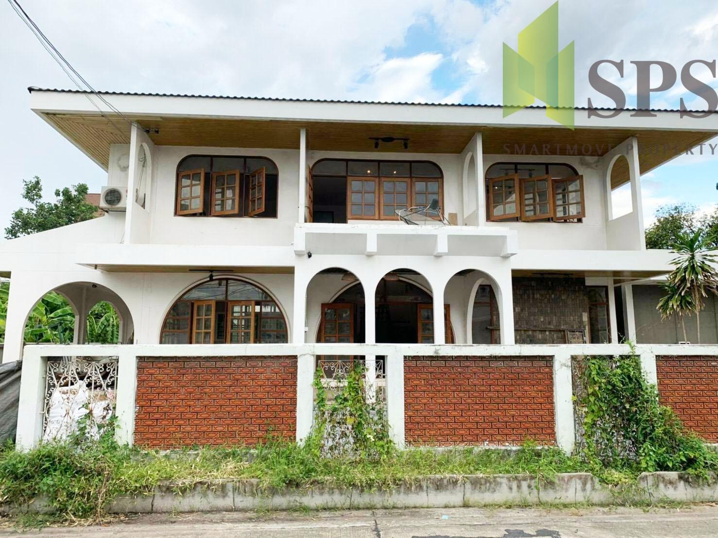 ให้เช่าบ้านเดี่ยว ตกแต่งใหม่ ในบ้านหมู่บ้านทิพวัล (SPSP236)