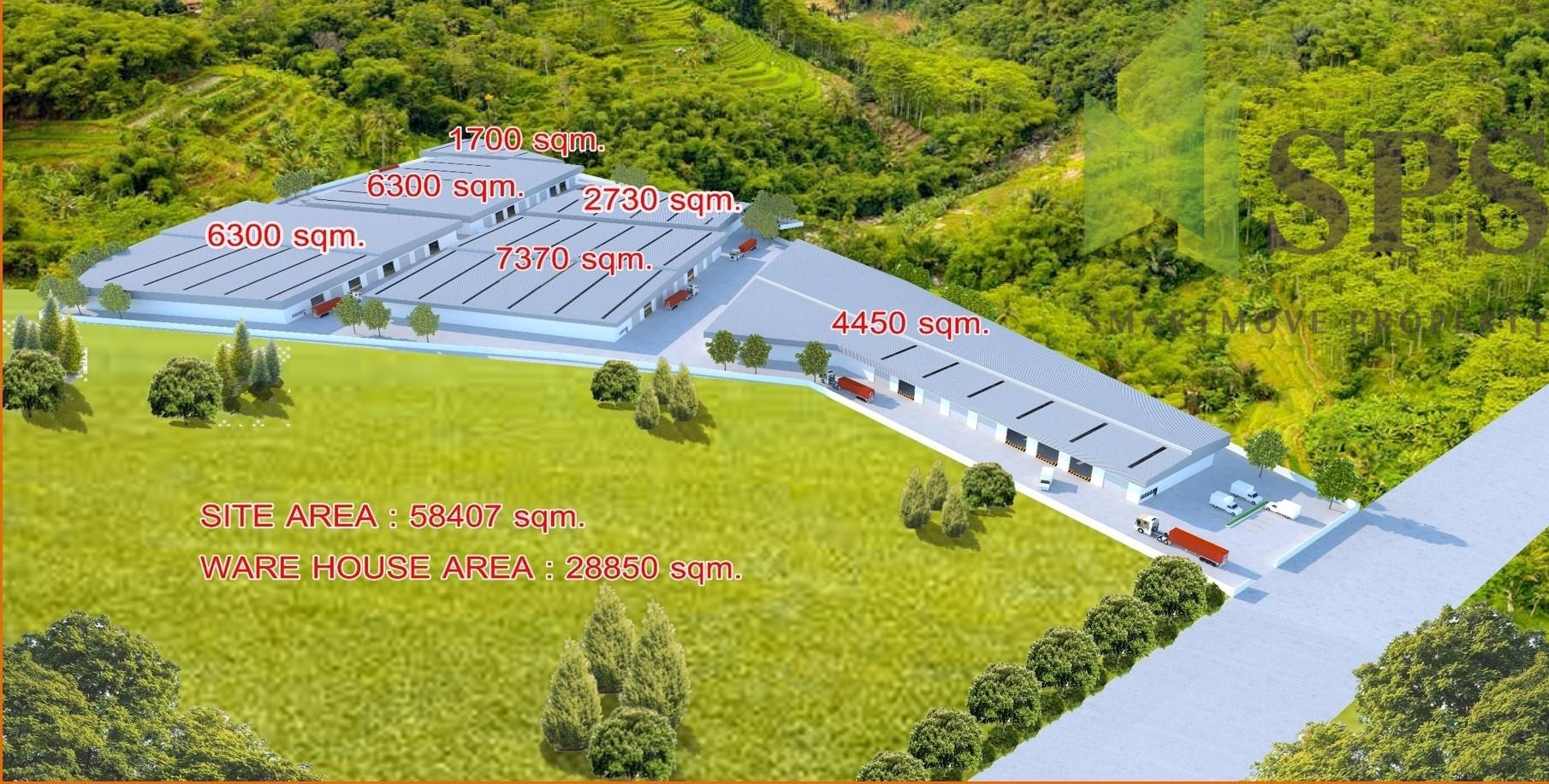 FOR RENT Warehouse at Siracha Chonburi สร้างโรงงาน/โกดัง/คลังสินค้า ศรีราชา มุ่งเน้นความพึงพอใจของลูกค้า (SPSCS086)