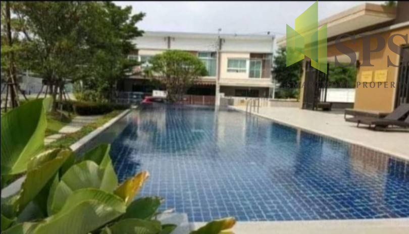 Town house Villette City Pattanakarn Pets friendly For Rent(SPS-GH507)