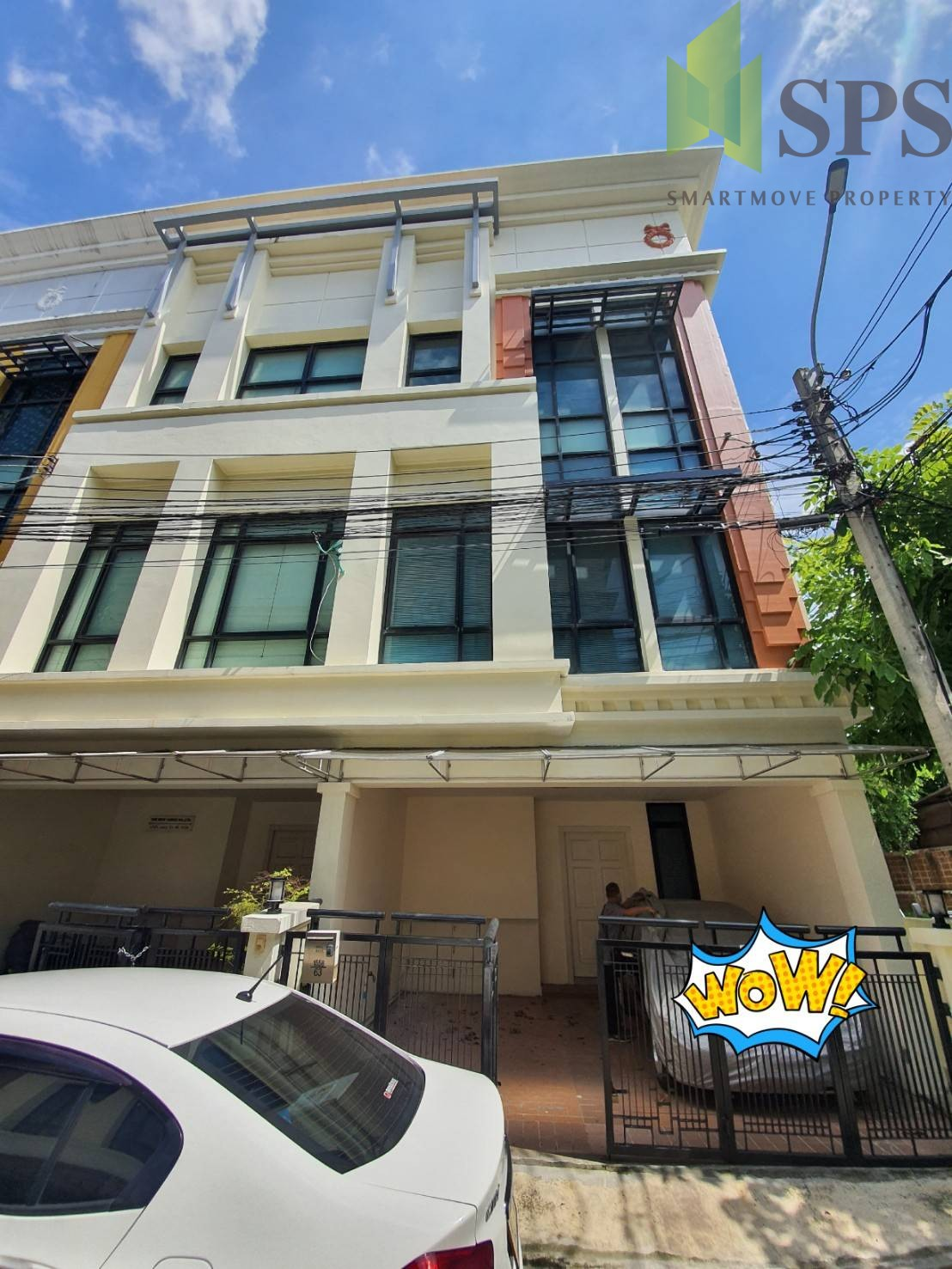 Home Office in the project for RENT in Bangna Trad Rd opposite Central Bangna (SPSP237)