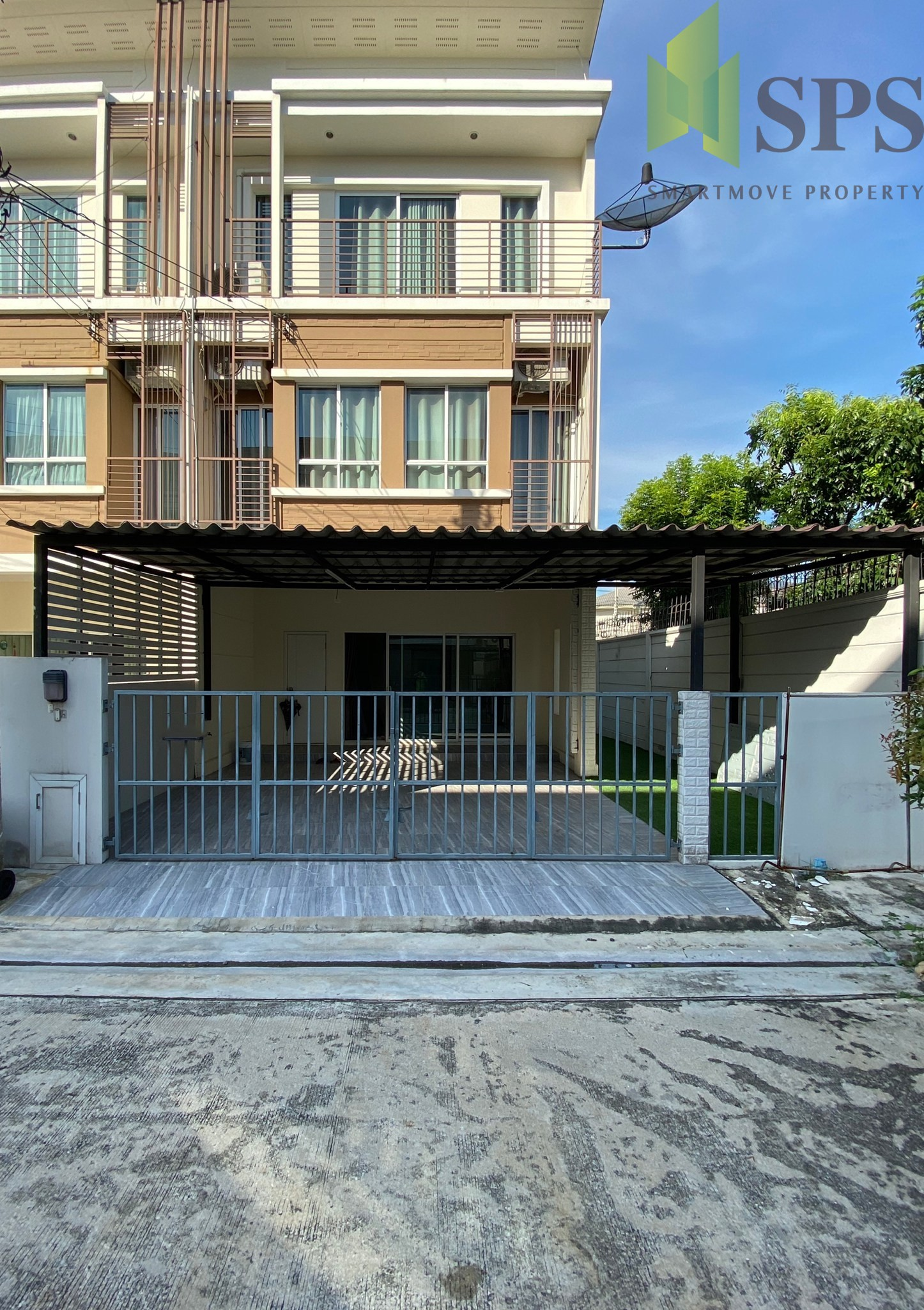 Town house Villette City Pattanakarn For Rent (SPS-GH503)