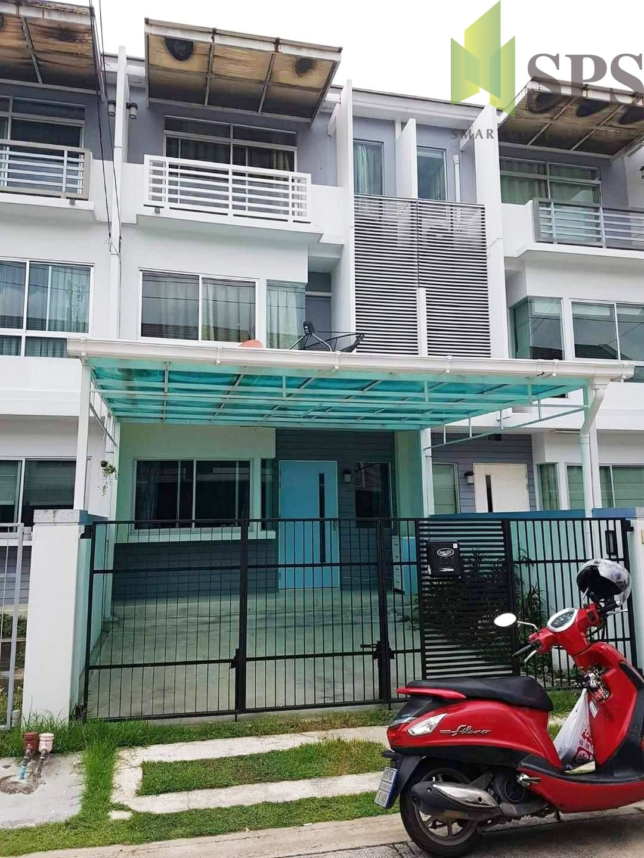 Townhome Baan Mai Rama9 Srinakarin for RENT (SPSP245 )