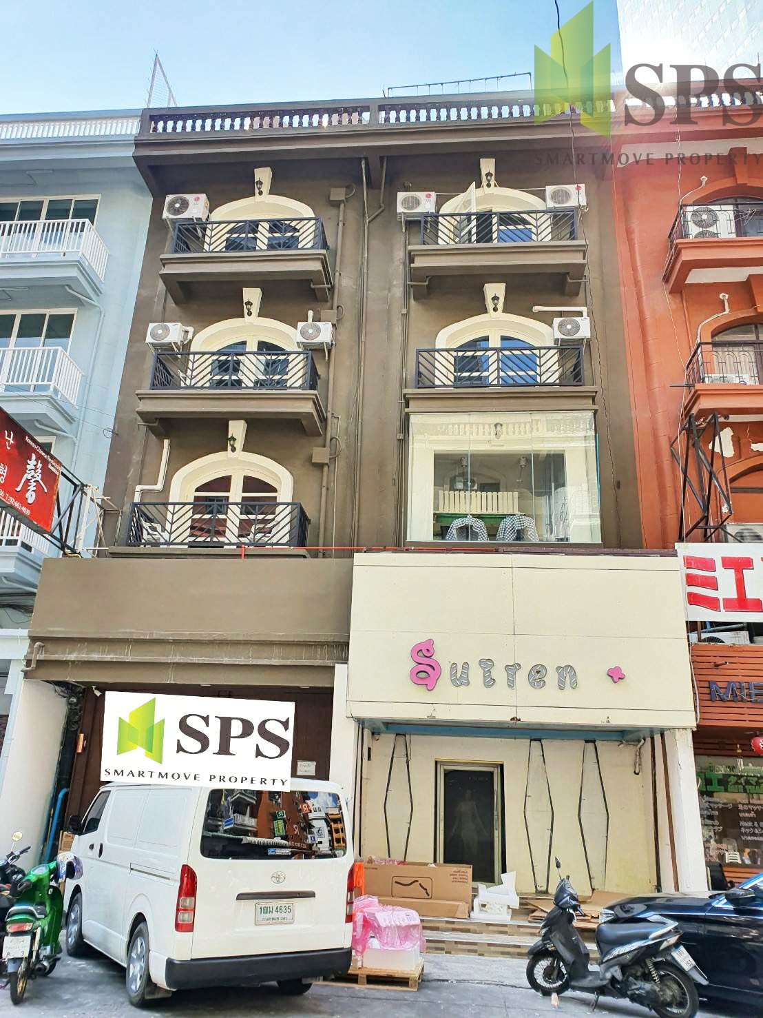 Commercial Building for Rent near Phrom Phong BTS (SPSP251)