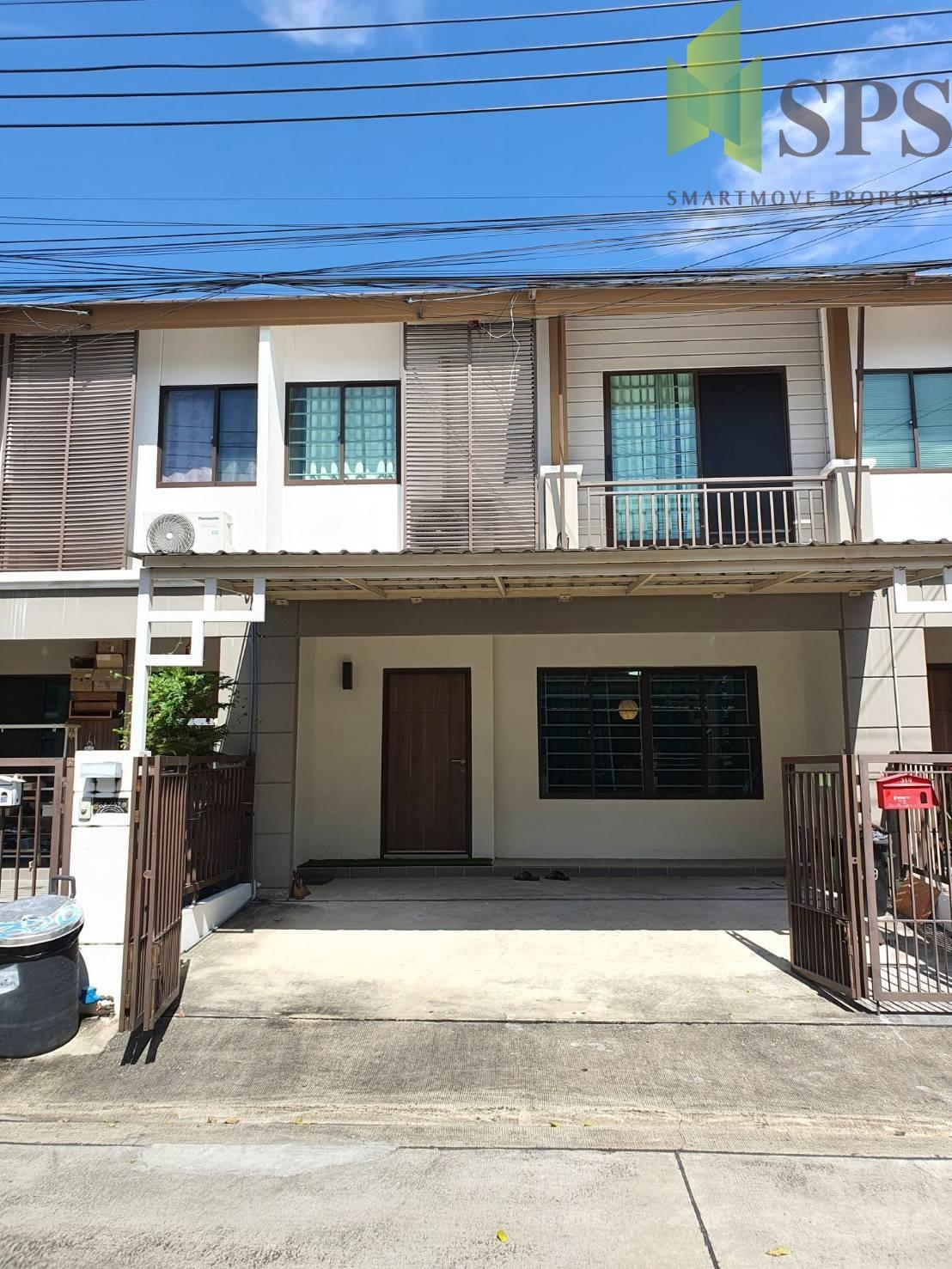 Townhouse for Rent Pruksa Ville 73 Pattanakarn (SPSP252)