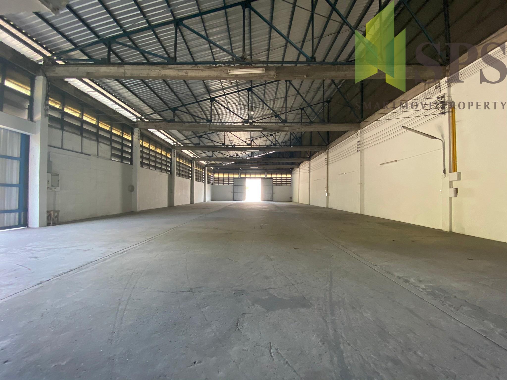 โกดังให้เช่า สำหรับจัดเก็บสินค้าหรือทำเป็นโรงงาน ทำเลดี ใกล้ท่าเรือแหลมฉบัง ถนน ชลบุรี บ้านบึง(Property ID: SPS-PP303)