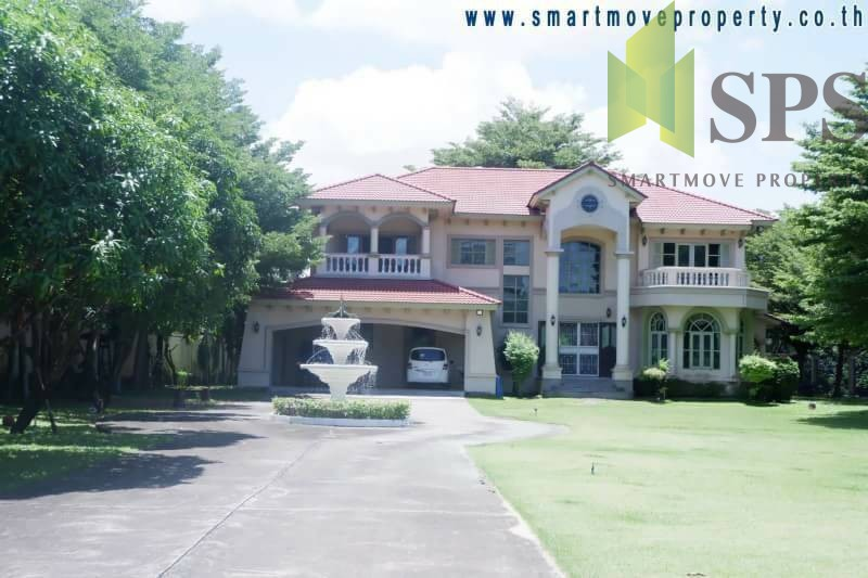 For Sale & Rent Luxury House Opposite Big C Bangplee , Samut Prakan ( SPS P258 )