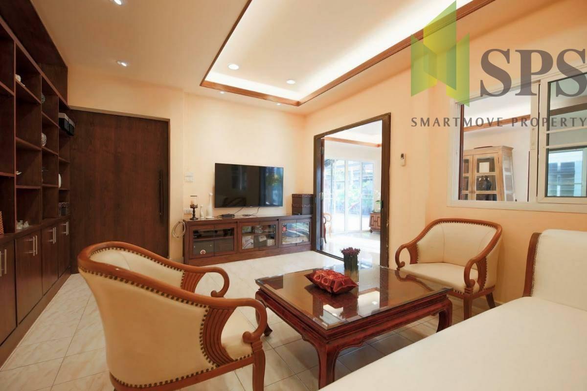 For Rent Single House Yu Sabai Village หมู่บ้านอยู่สบาย บ้านเดี่ยวให้เช่า ถนนกรุงเทพกรีฑา( SPS P262)