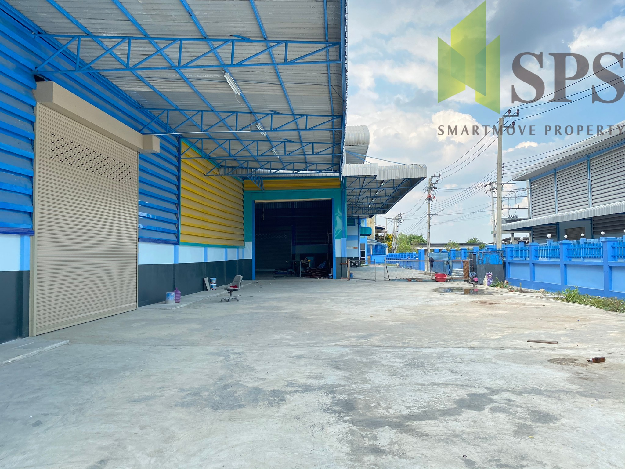 โกดังให้เช่า โรงงานให้เช่า ซอยยิ่งเจริญ บางพลีใหญ่ สมุทรปราการ (Property ID: SPS-PPW134)