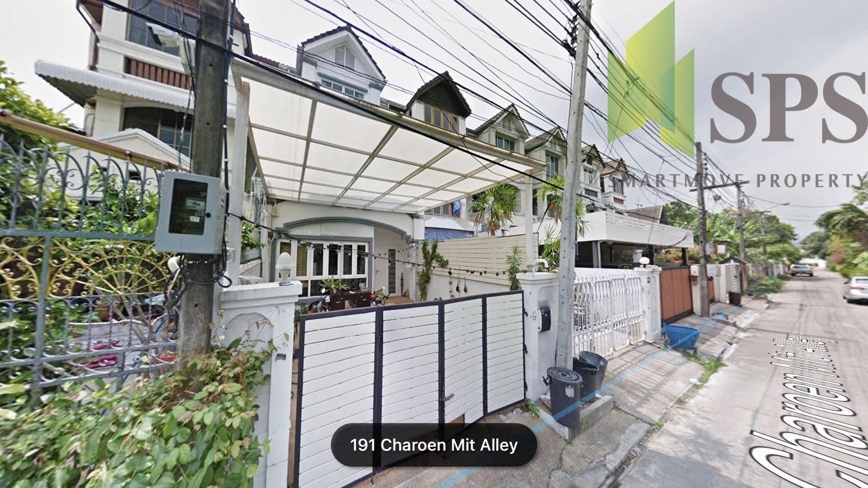 For Rent & Sale Townhouse Ekamai ขาย/เช่า ทาวน์เฮ้าส์ เอกมัย (SPS-GH711)
