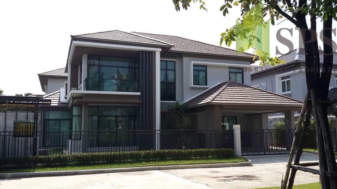 Modern Single House หมู่บ้าน เดอะแกรนด์ บางนา วงแหวน THE GRAND BANGNA – WONGWAEN (SPS-GH726)
