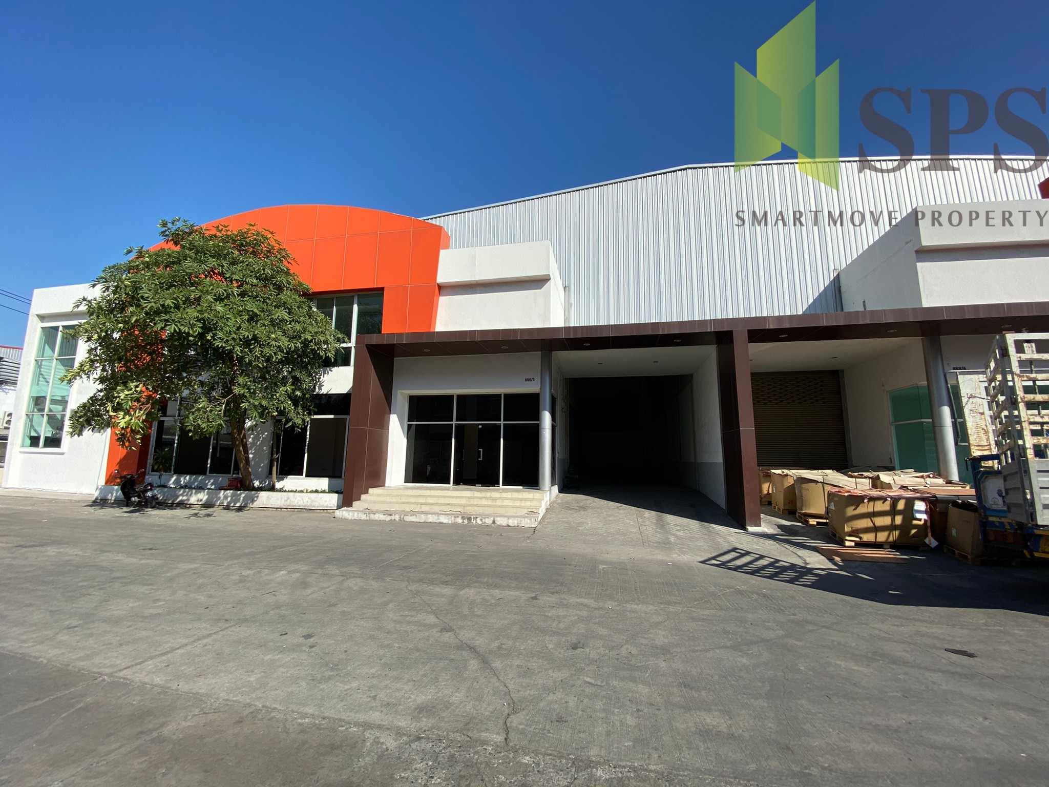 Factory, Warehouse for RENT at BangPlee-Tamru / โกดัง, โรงงานพร้อมสำนักงาน สำหรับเช่า ที่ บางพลี ตำหรุ (Property ID: SPS-PPW143)