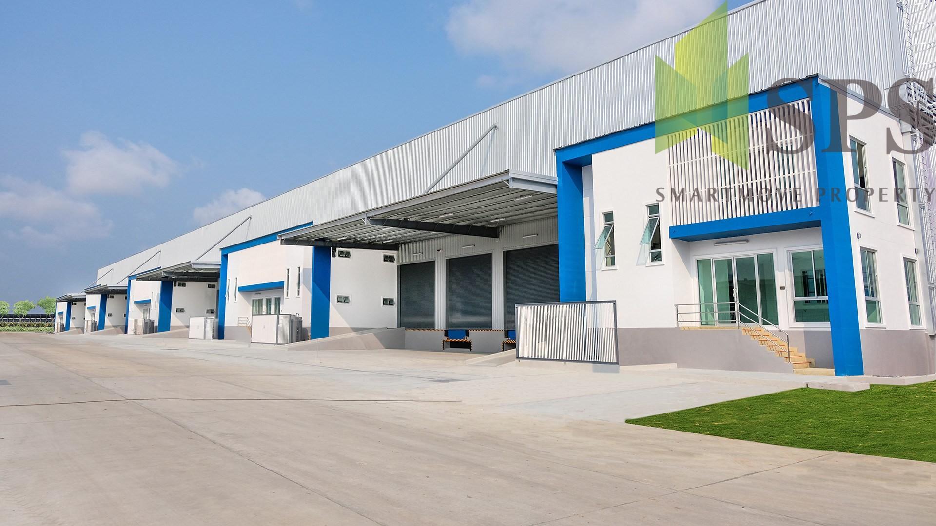 Raised Floor Factory, Warehouse in Free Zone for RENT at Bangna-Trad Road, Km 23 / โกดัง, โรงงาน พื้นยก ในเขตฟรีโซน สำหรับเช่า ที่ บางนาตราด กม.23 (Property ID: SPS-PPW150)