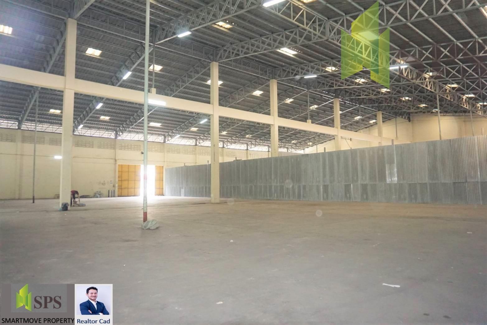 FOR RENT Warehouse in Rama 3 (Realtor Cad) โกดังพระราม 3 เดินทางสะดวกไปท่าเรือคลองเตย (SPSCS-092)