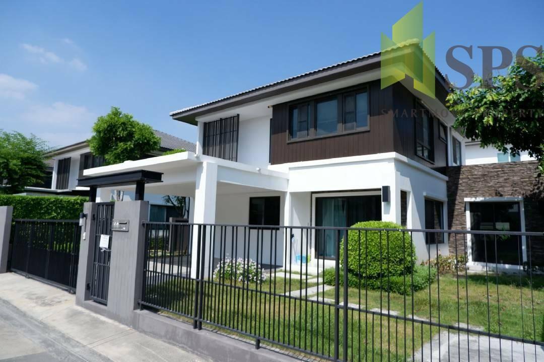 Single house Mantana KM7 (มัณฑนา บางนา กม.7) For RENT (SPS P287)