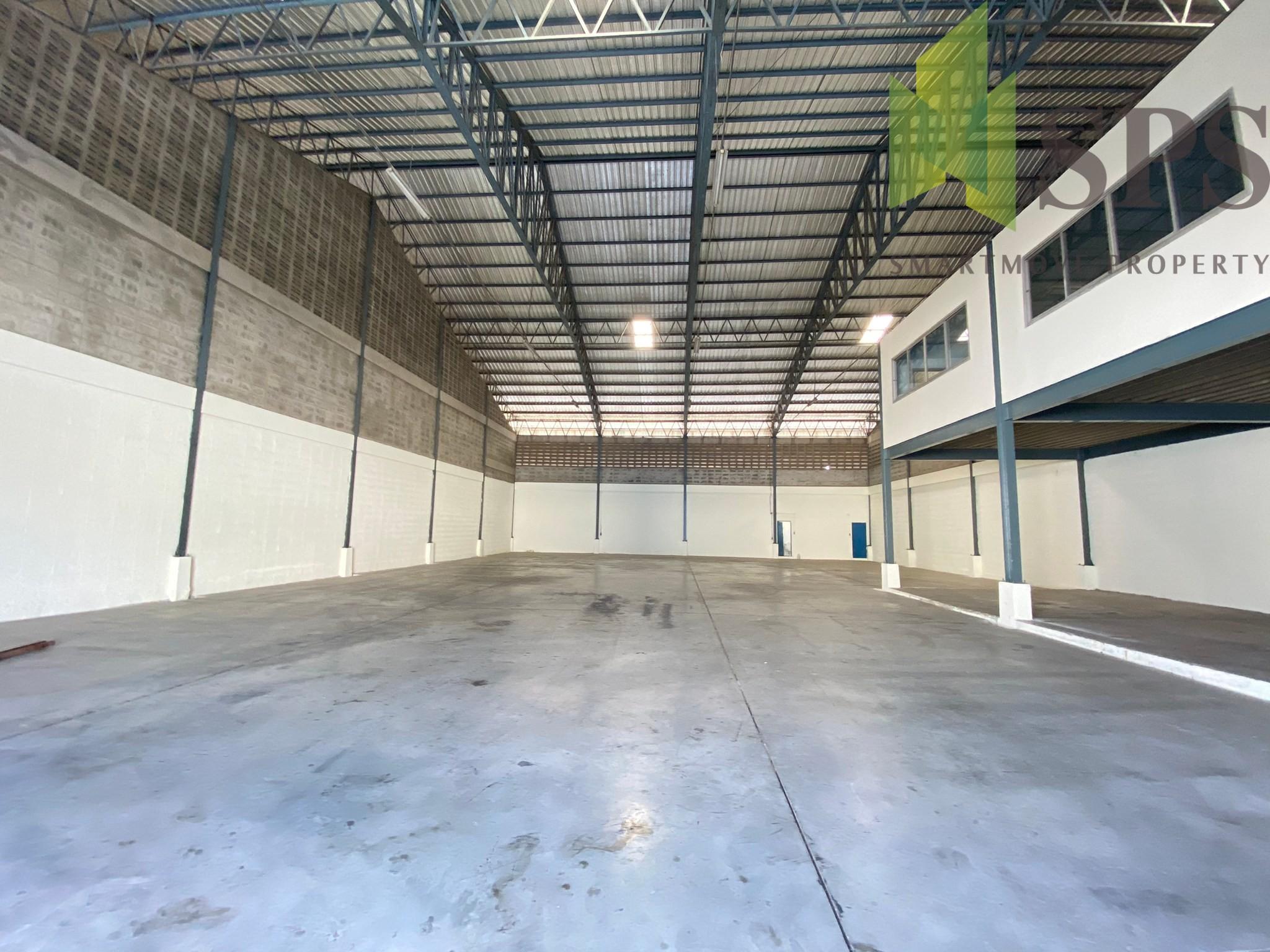 Factory, Warehouse for RENT at King Kaew Road, Bang Phli, Samut Prakan / โกดัง, โรงงาน สำหรับเช่า ที่ ถนน กิ่งแก้ว ราชาเทวะ บางพลี สมุทรปราการ (Property ID: SPS-PPW153)