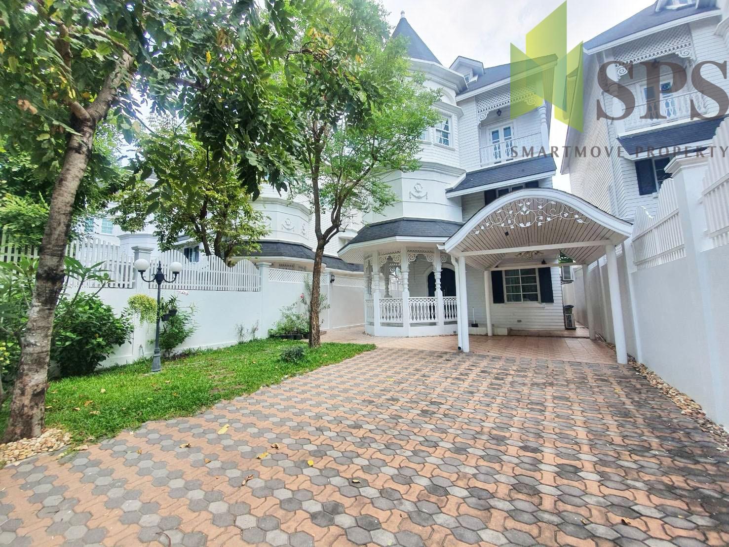 Single House Fantasia Villa 2 Sukhumvit 107 for RENT (SPS P299 )