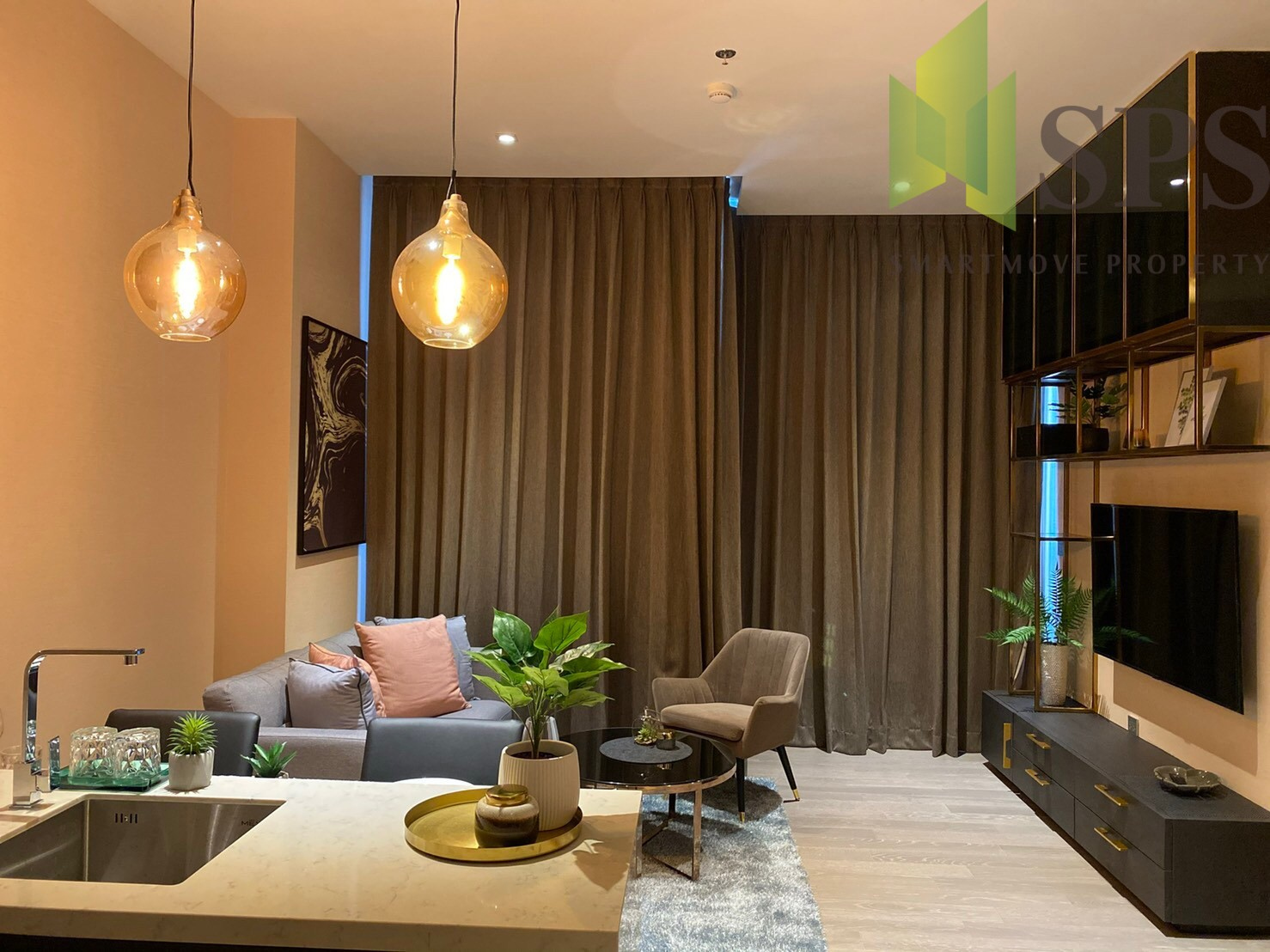 FOR RENT!!!! The Esse at Asoke Contemporary Modern style Brand new!!!! Ready to move in! (SPS-LN-ESSE-AK14)