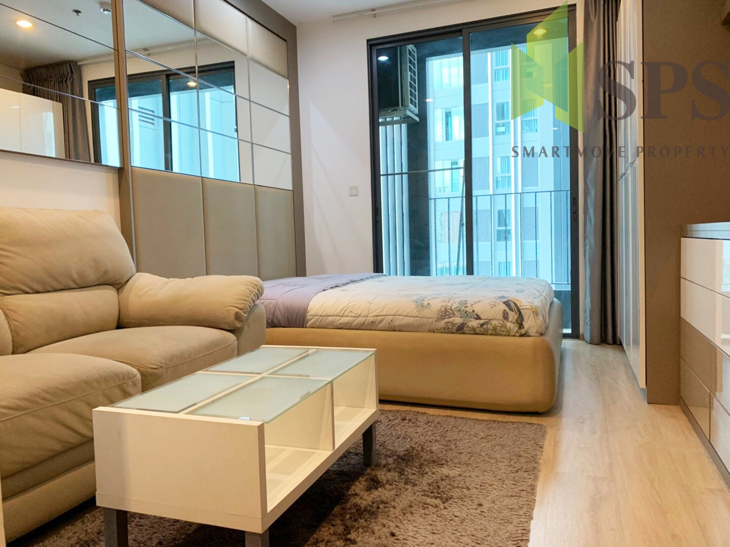 FOR RENT!!!! IDEO Q CHULA SAMYAN, Rama4 Ready to move in!!!!400m from MRT SAMYAN (SPS-LN-IDO-CU19)