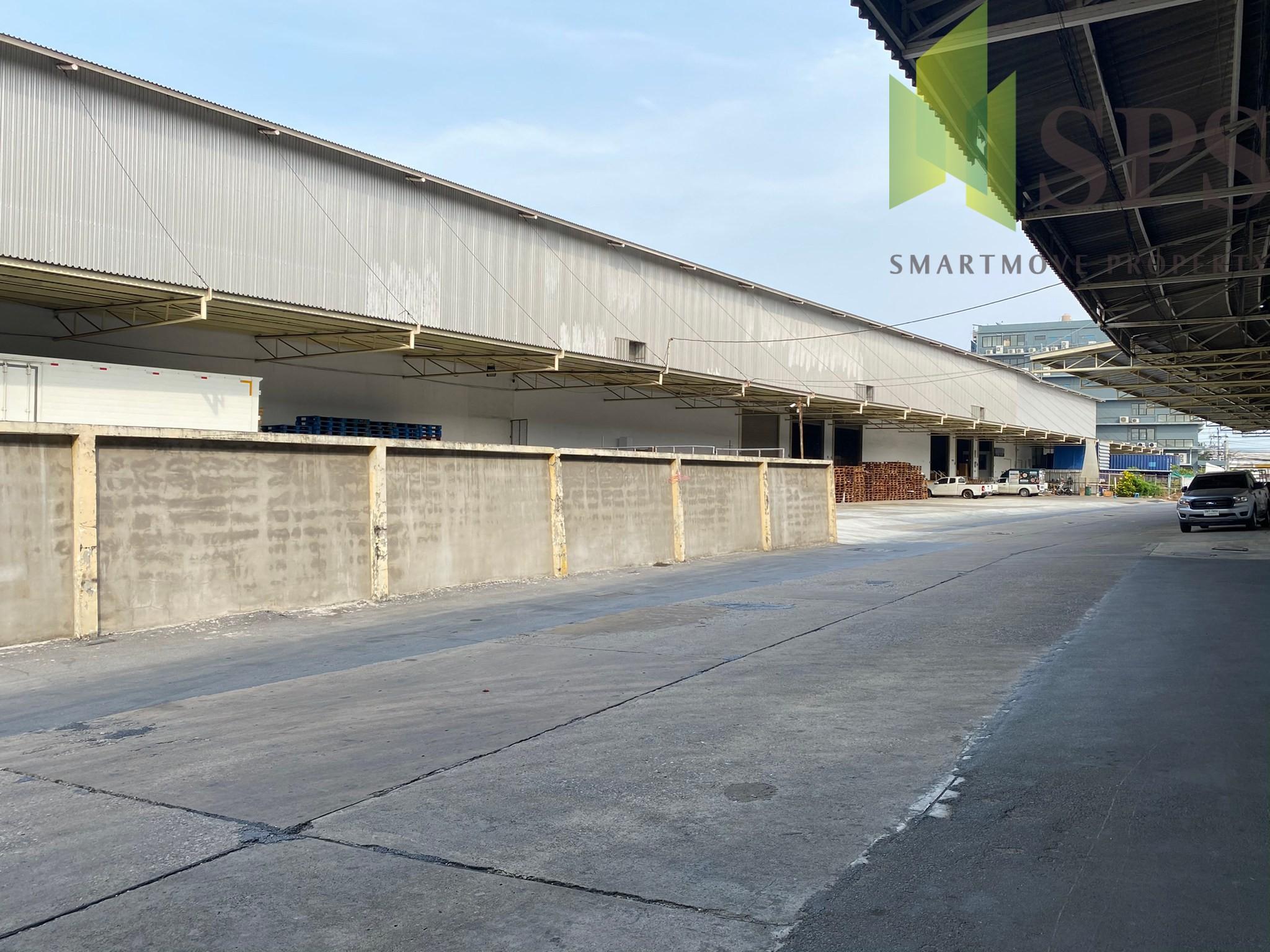 Warehouse with Office for RENT at Samrong Nuea, Samut Prakan near Makro Samut Prakan/ โกดัง พร้อมสำนักงาน สำหรับเช่า ที่ สำโรงเหนือ(Property ID: SPS-PPW163)